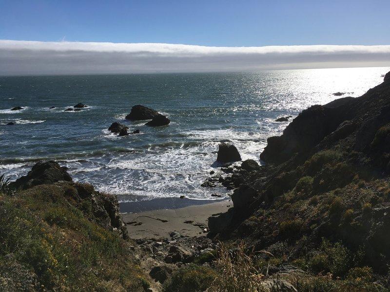 View Down Pirates Cove