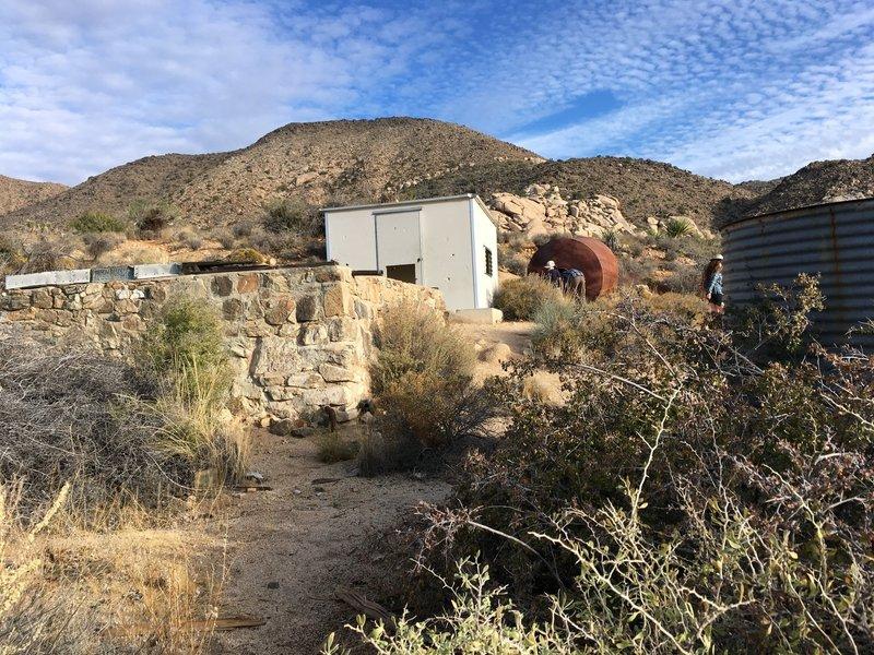 Abandon structures at Ryan Ranch.