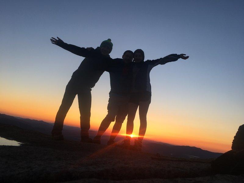 Sunset from Cascade Mountain, Adirondack Park