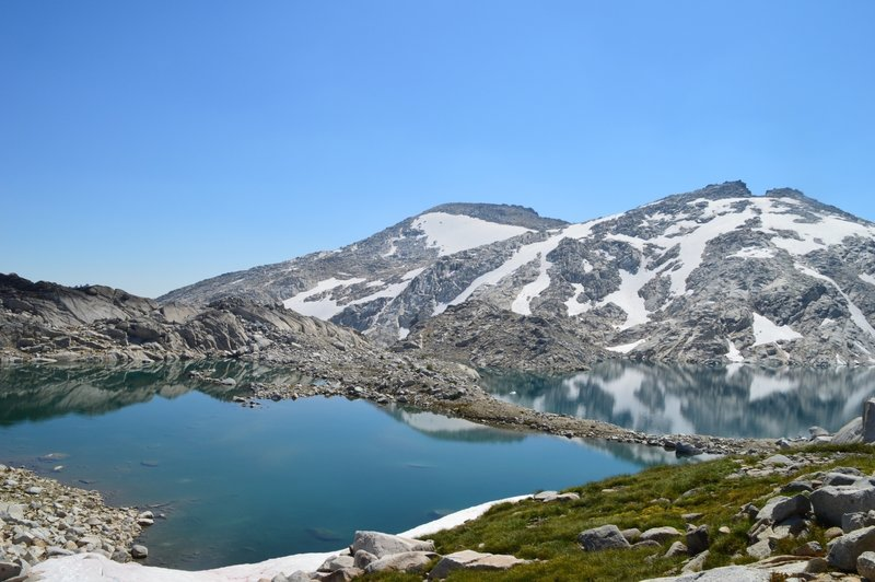 View of Isolation Lake in the Enchantments, WA