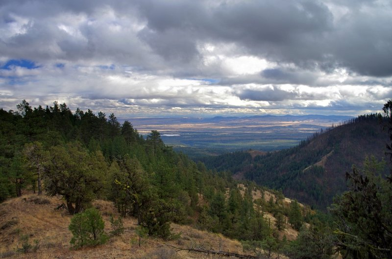 View of the Tygh Valley from the Tygh Creek Trail