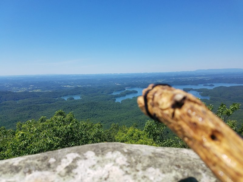 Looking over S. Holston Lake