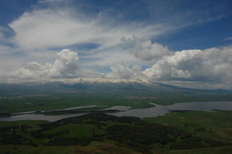 The Aparan Water Reservoir.