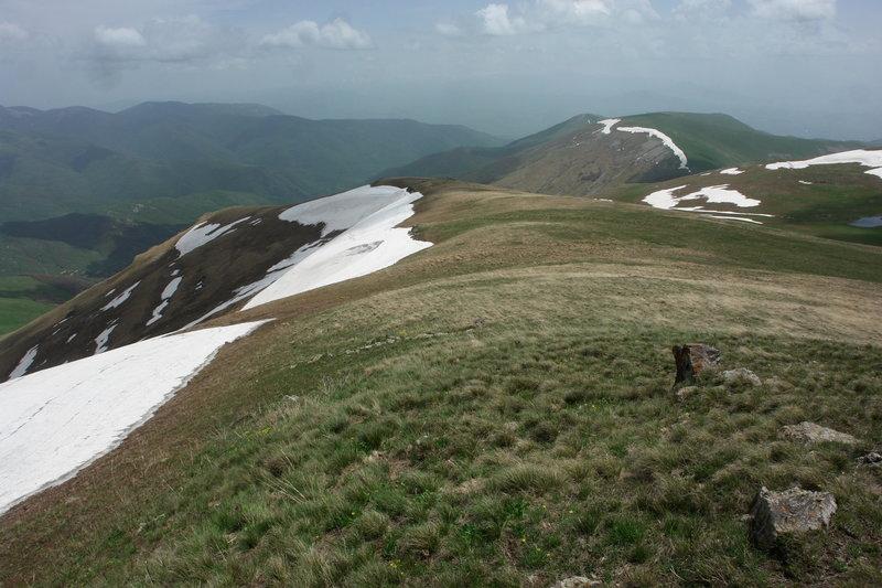 Teghenis Mountain Range.