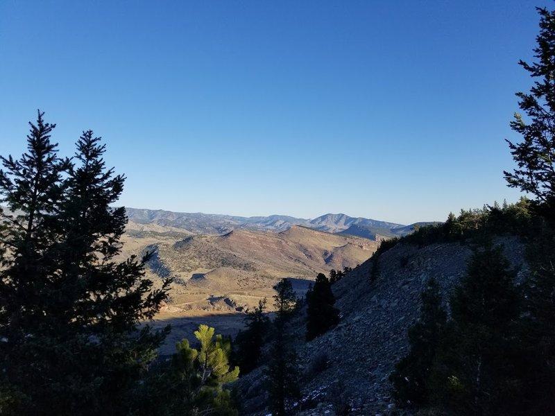 Scenic Overlook off Ponderosa Loop