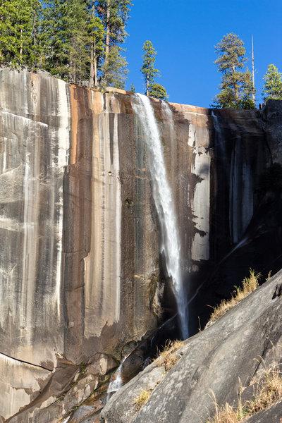Vernal Falls in late fall