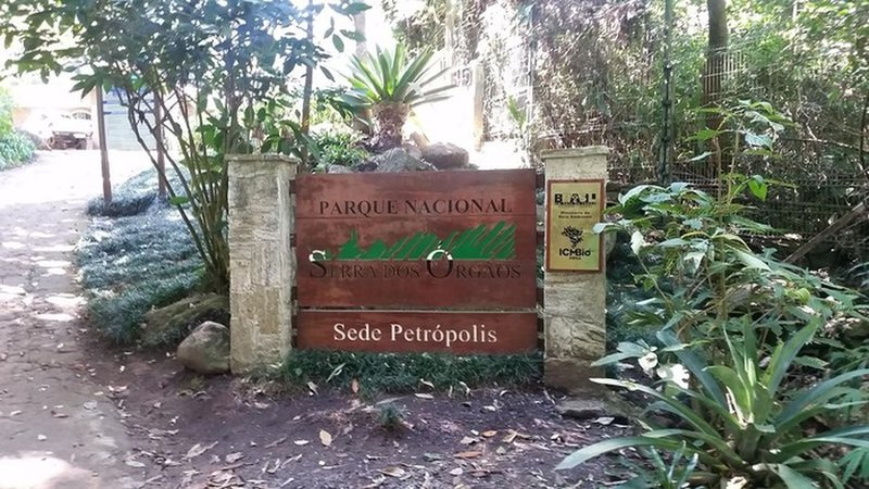 Serra dos Orgaos national park entry