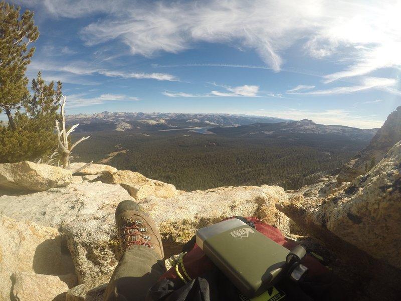 Top of Dogtooth Peak