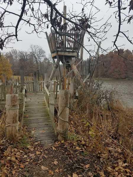Pirate Bay in November-Powell Gardens