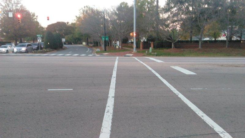 Crossing Durant Road