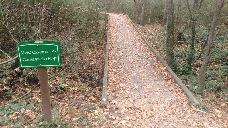Bolin Creek Foot Bridge
