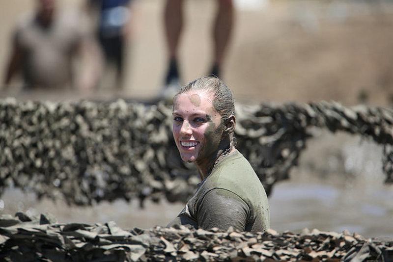 Marine Volunteer in the Final Mud Pit