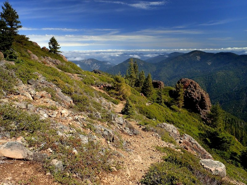 Along the Kerby Peak Trail