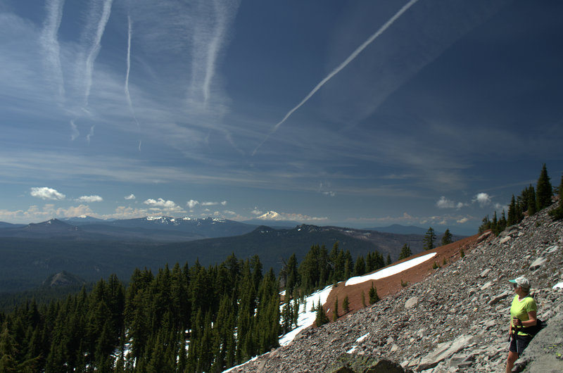Mount McLoughlin from the Union Peak Trail