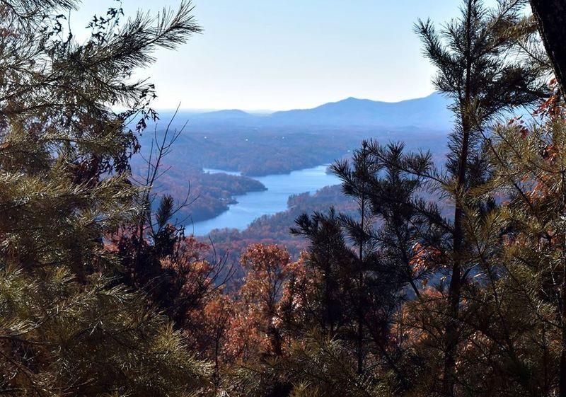 View of Lake Lure from Buffalo Creek Park Loop