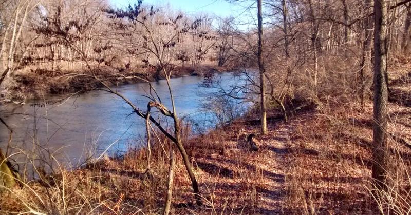 The Sangamon River