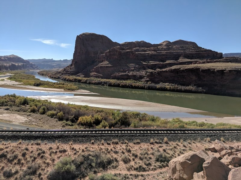 Nice views of the Colorado River as you exit the canyon