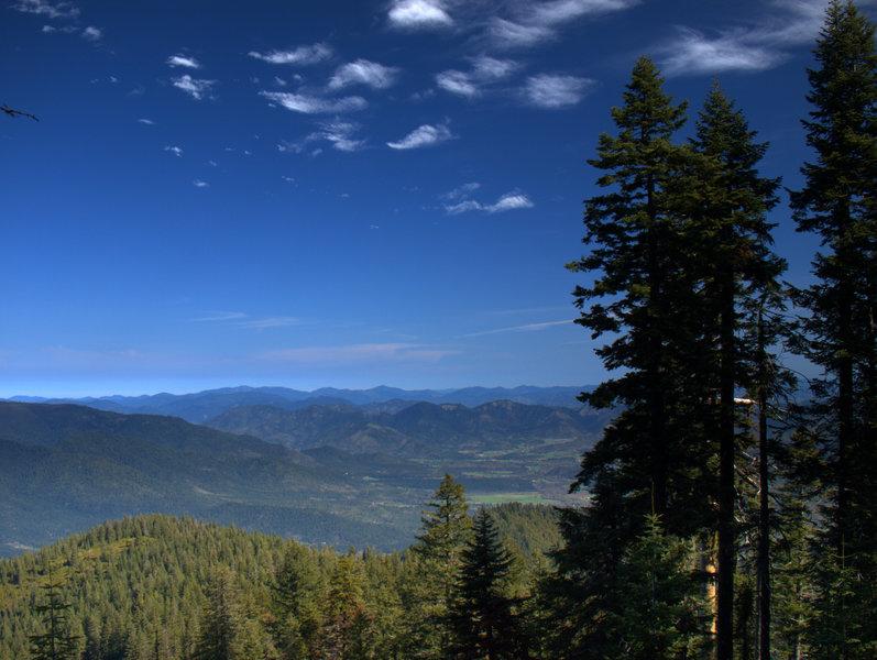 The Willams Creek Valley