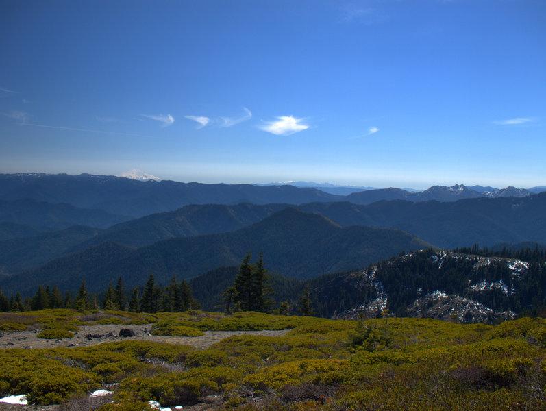 Mount Shasta from Big Sugarloaf Peak