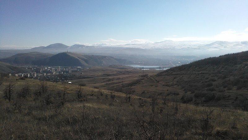 View to the Mount Azhdahak
