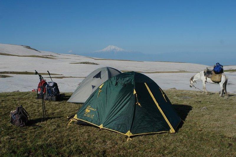 Ararat from Geghama mountains
