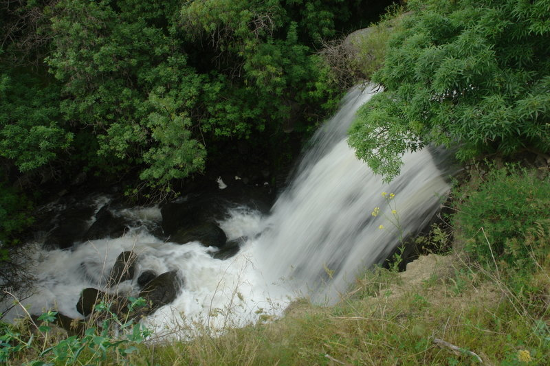 Kotur waterfall on the way to the Cave Church