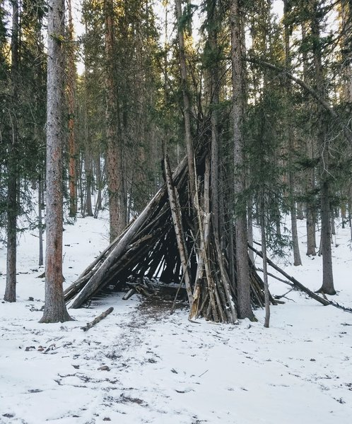 Tipi Survival Shelter