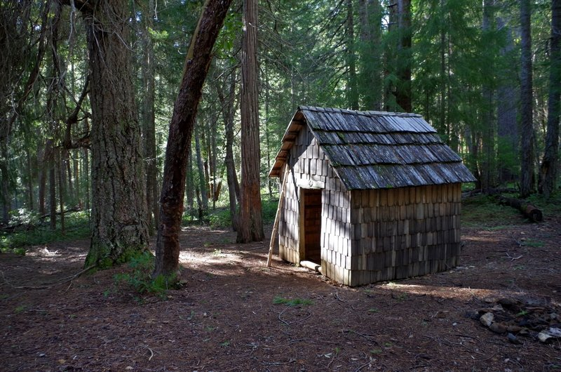 The 1920s era tool shed