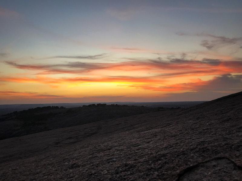 Sunset on the Summit Trail