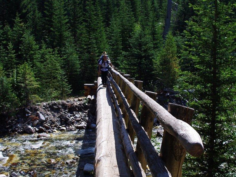 Crossing Hurricane Creek