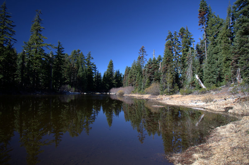 Lake 5854, the largest of the Bigelow Lakes