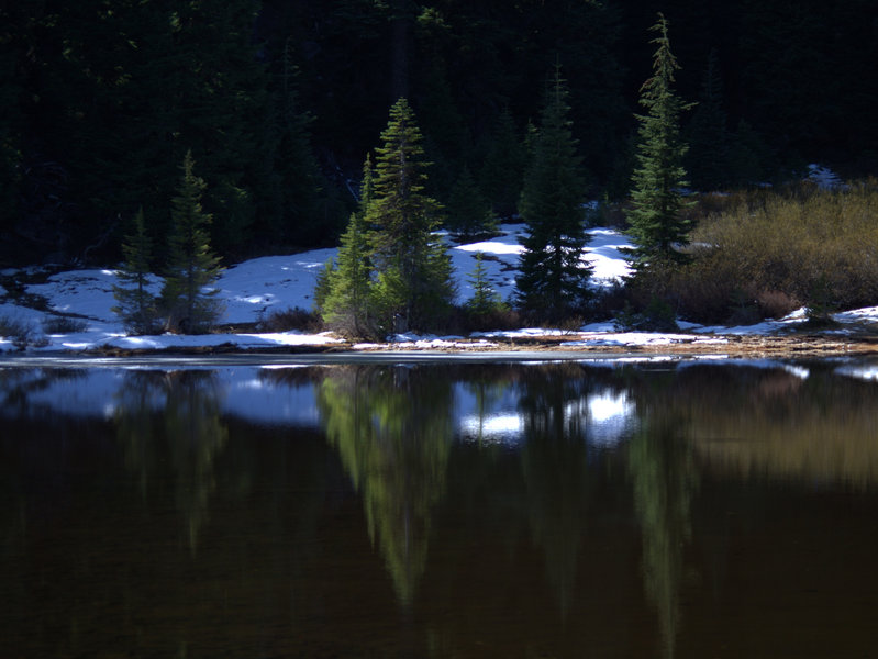 One of the Bigelow Lakes