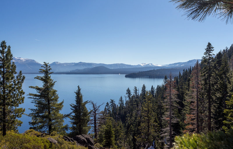 Lake Tahoe from the Lighthouse Trail
