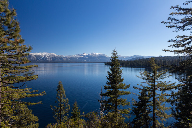 Lake Tahoe from D.L. Bliss State Park