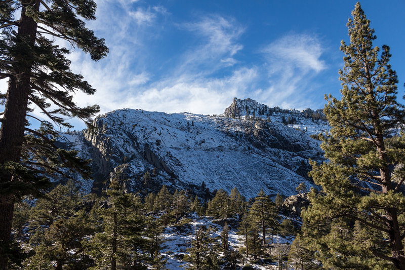 Phipps Peak from Eagle Falls Trail