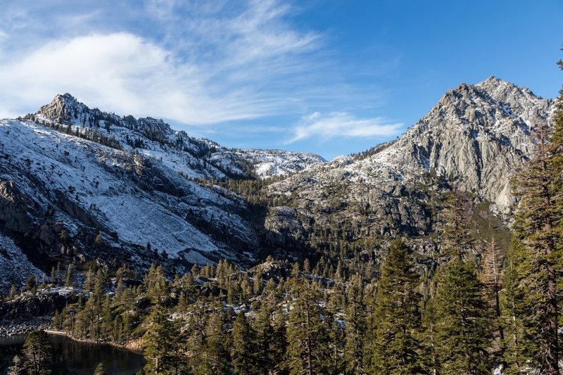 Phipps Peak and Jakes Peak