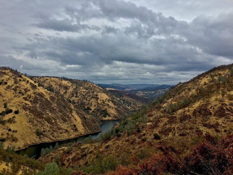 View of the Mokelumne River