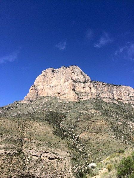El Capitan in the early fall.