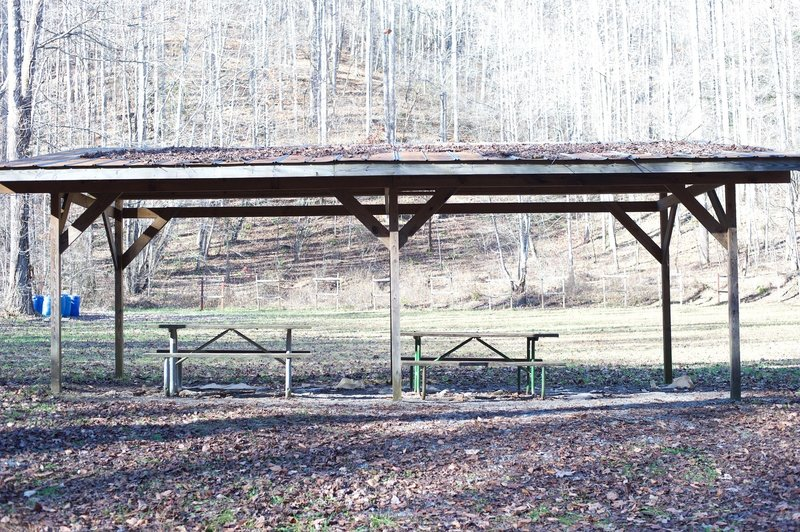 The National Park Service has a firing range along the trail.  If they are practicing, the trail may be temporarily closed until they have completed training.