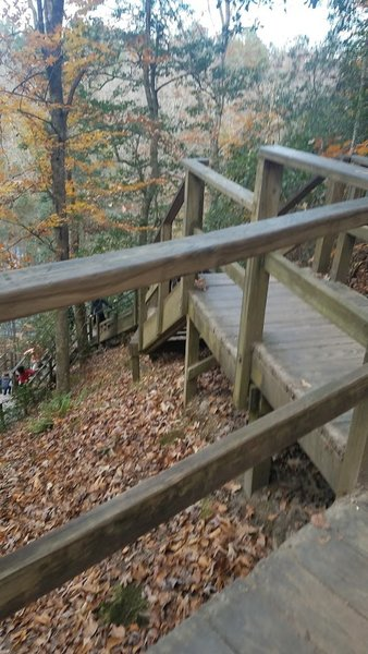 Stairs to Raven Rock
