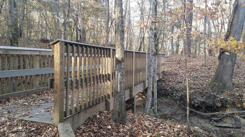 Bridge Crossing Little Creek