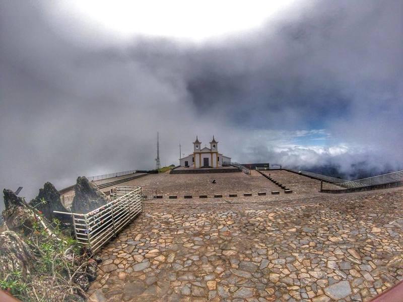 View of the santuary of Piedade