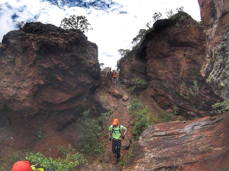 Piedade mountain downhill