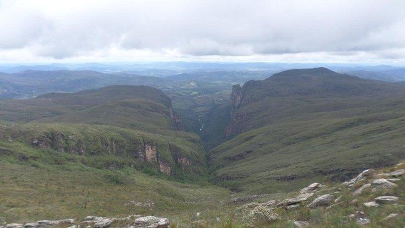 The Peixe Tolo canyon.