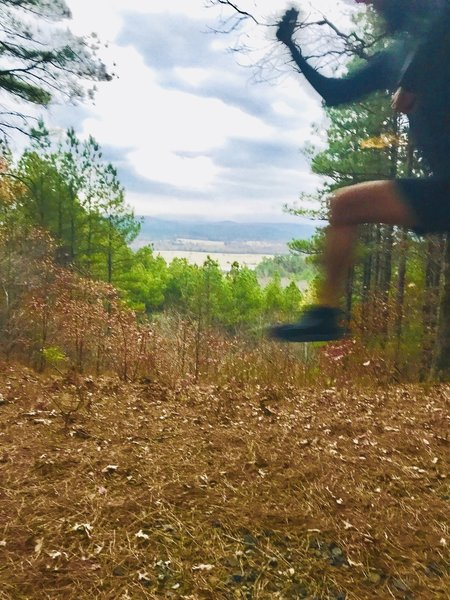 A view of Gaston Mountain