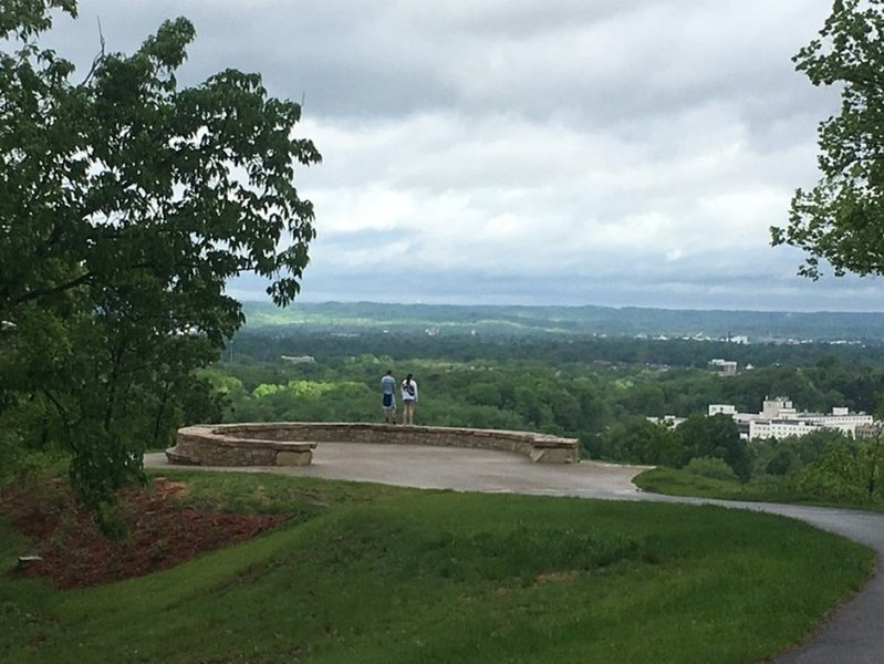 Overlook at Iroquois Park.