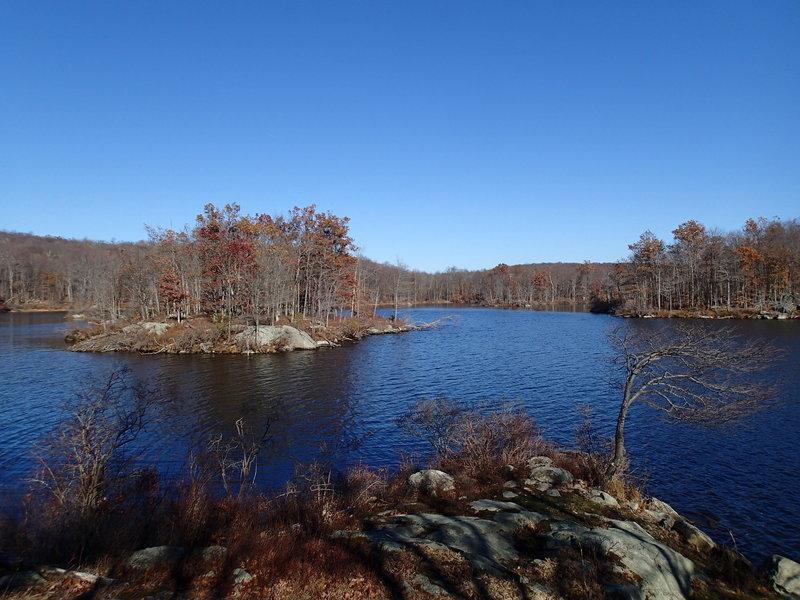 View of Split Rock Reservoir