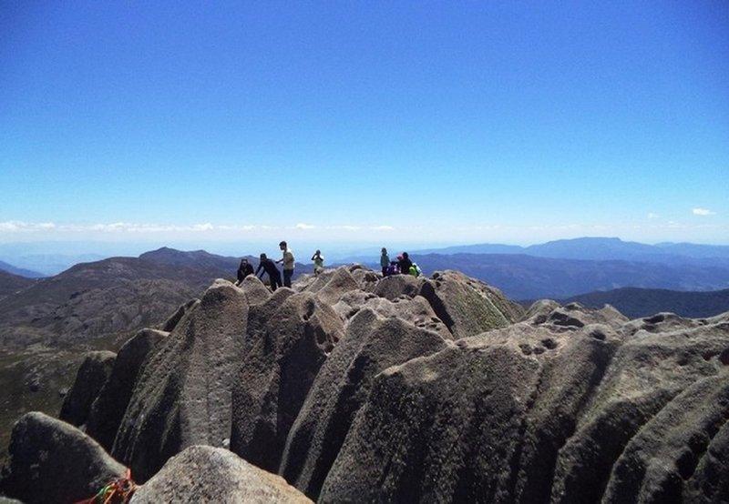 Summit of Agulhas Negras peak