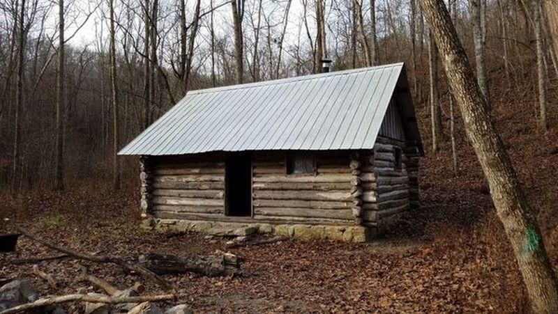 1980's hunting cabin
