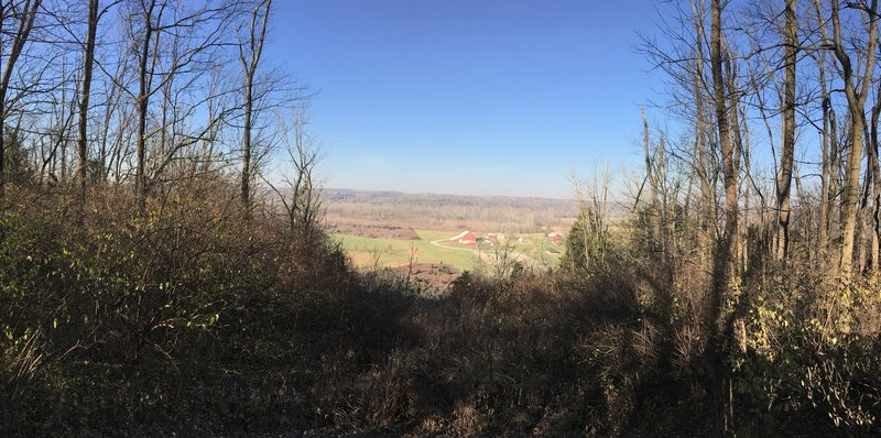 Valley Overlook off Woodland Trail